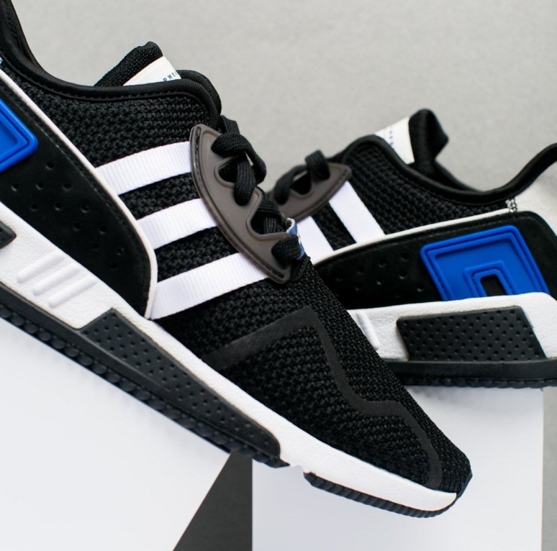 premium selection 8e07f 43c9c adidas EQT Cushion ADV Black/Royal // Available Now | Nice Kicks