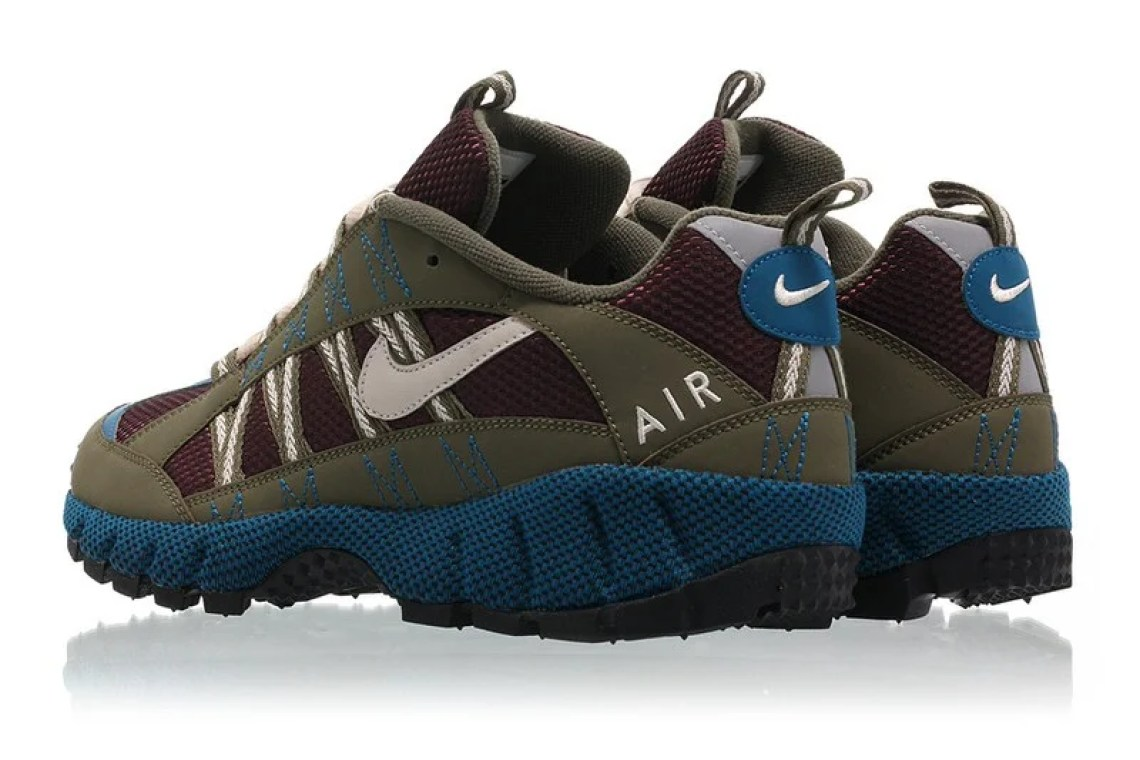 51528020343 ... Nike Air Humara 17 Medium Olive Desert Sand-Deep Burgundy