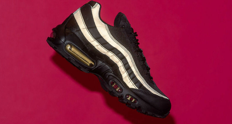 37f758d5a358f5 ... low price nike air max 95 premium se black metallic gold available now  nice kicks 134c1