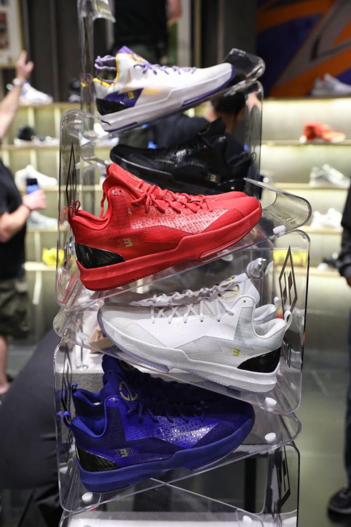 Inside Big Baller Brands Pop Up Shop In Shanghai Nice Kicks
