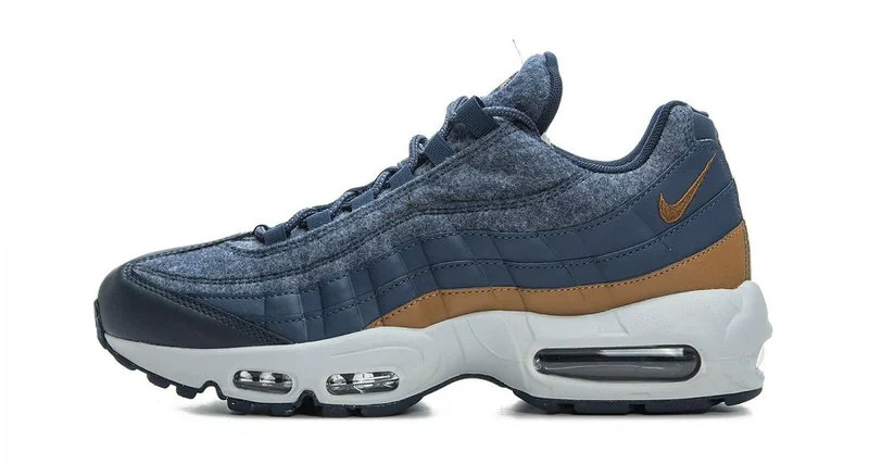 "separation shoes 6e4f7 f9d6f Nike Air Max 95 ""Thunder Blue""    Available Now"