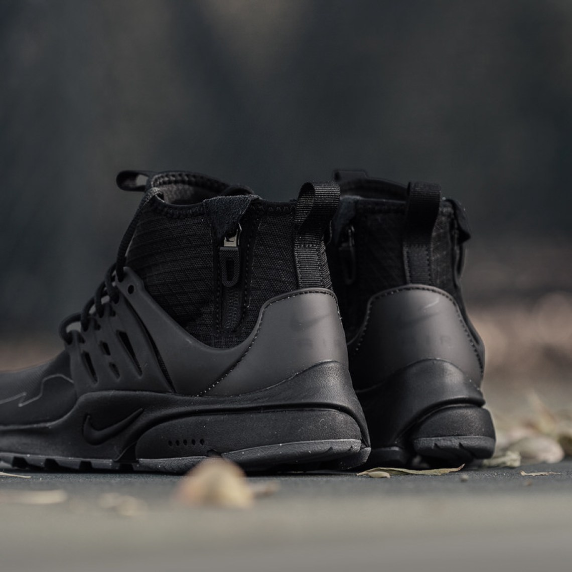 "3b123e6b1277 Nike Air Presto Mid Utility ""Black Dark Grey""    Available Now"