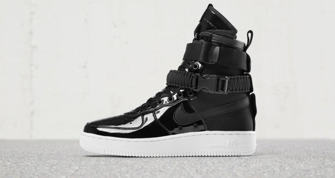 """Nike SF-AF1 """"Black Patent"""""""
