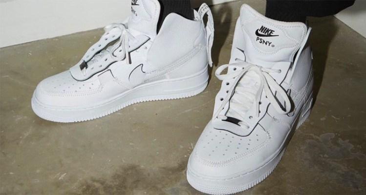 timeless design d727d 43ebe PSNY x Nike Air Force 1 Hi