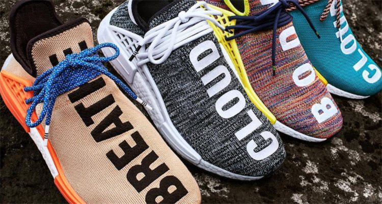 """Hu NMD Collection By Pharrell"