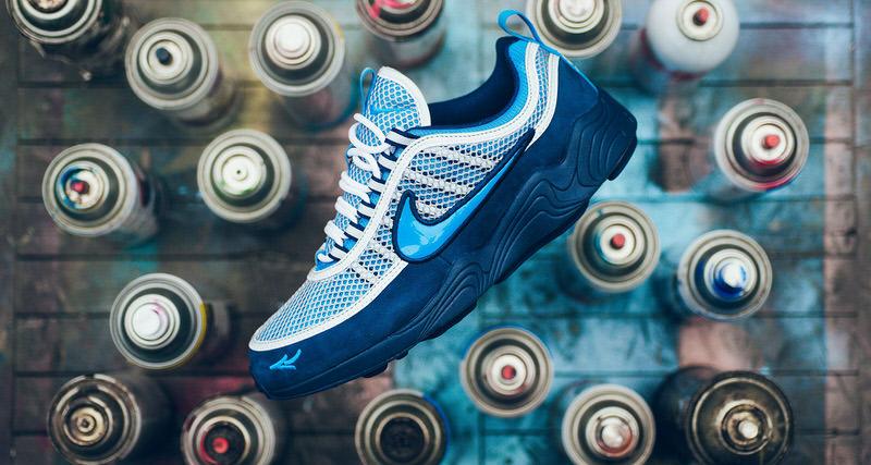 reputable site 11f2e 5a3a7 Stash x Nike Air Zoom Spiridon Collab Finally Drops This Week