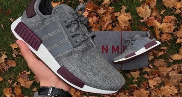 """adidas NMD R1 Wool """"Maroon"""""""