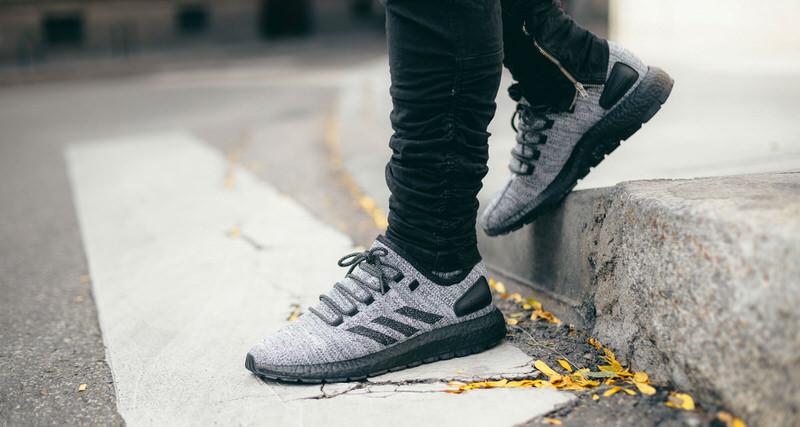 7df892374c165 adidas PureBOOST X ATR Solid Grey Core Black    Available Now