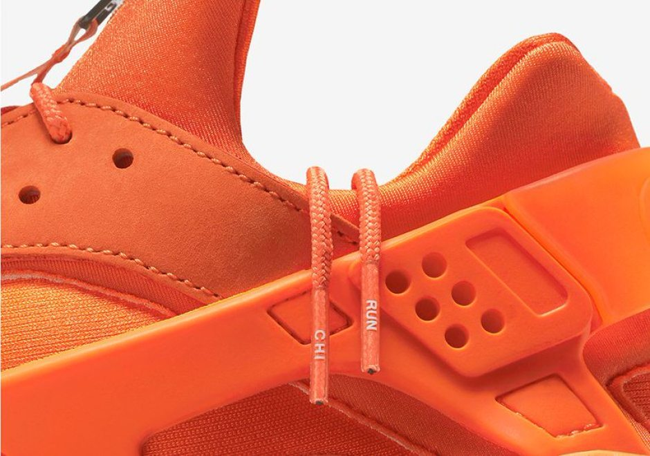 8a52b589d Nike Air Huarache Updated with Zippers for Chicago Edition