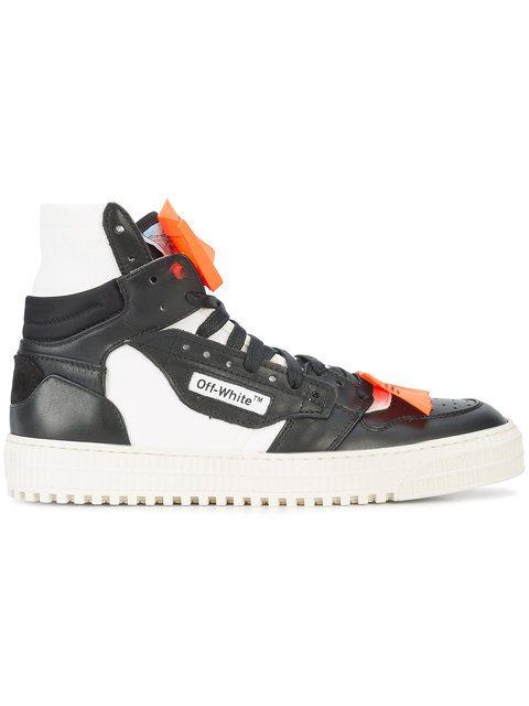 OFF-WHITE Hi-Top Sneakers