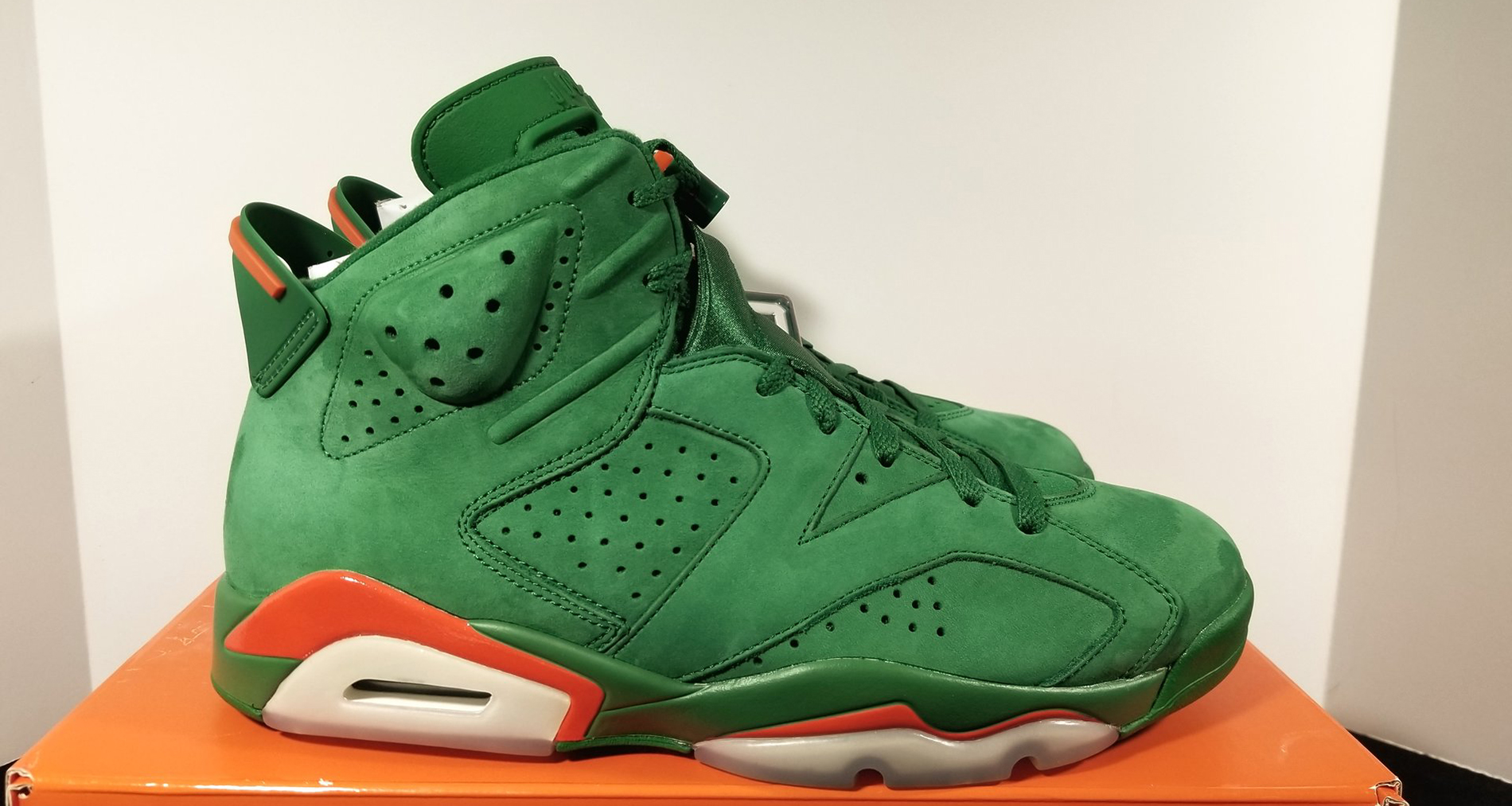 f71013f388802f coupon air jordan 6 gatorade green team orange summit white big discount  550a7 56876  get air jordan 6 gatorade detailed look 74f39 155c6