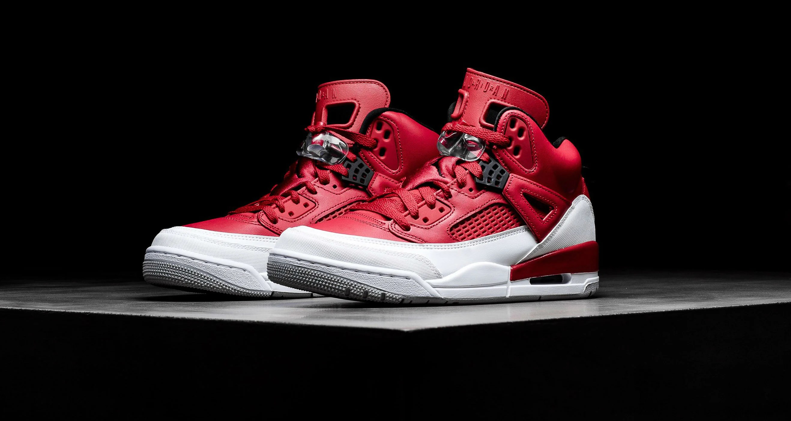 """8a59fddc68f6cb Jordan Spizike """"Gym Red""""    Available Now"""