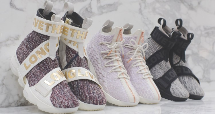 "KITH x Nike LeBron 15 ""Long Live The King"" Collection"