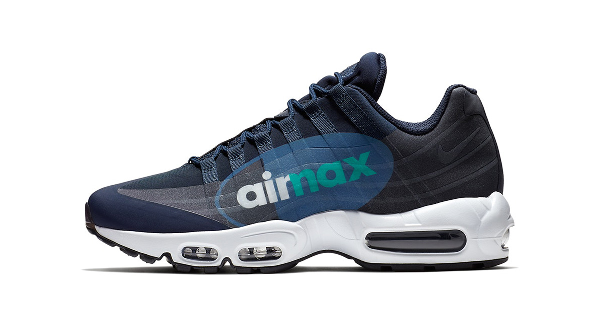 the best attitude 77aaa 93ab7 Nike Air Max 95 Big Logo
