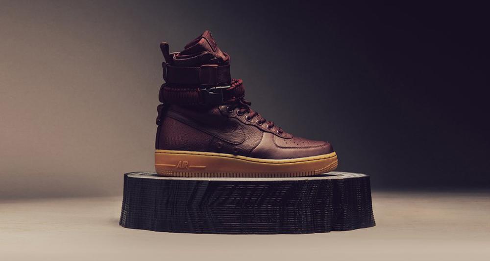 "Nike SF-AF1 ""Deep Burgundy"""