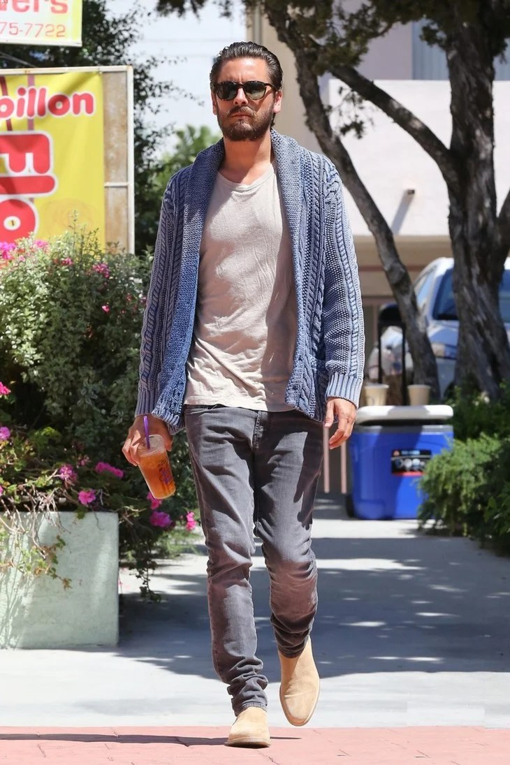 781fb640d30 Scott Disick. Fear you ve exhausted every look in your wardrobe  Layer in a  souvenir bomber
