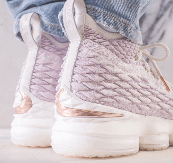 "KITH x Nike LeBron Performance 15 ""Rose Gold"""
