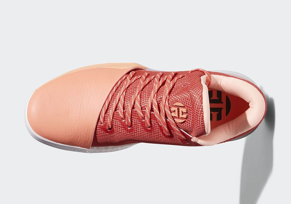 """adidas Harden Vol. 1 """"Chalk Coral"""" // Release Date"""
