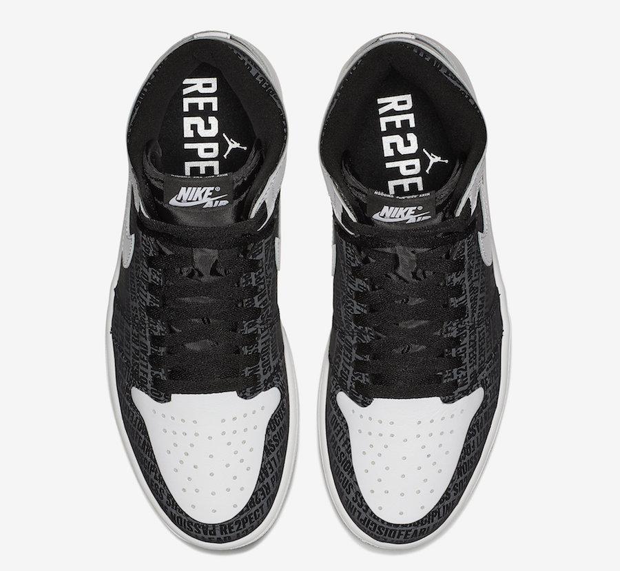 "Air Jordan 1 High ""RE2PECT"""