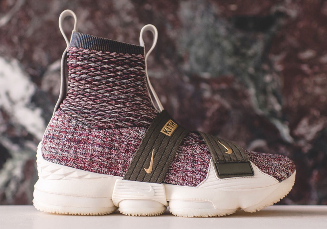 KITH x Nike LeBron 15 Lifestyle