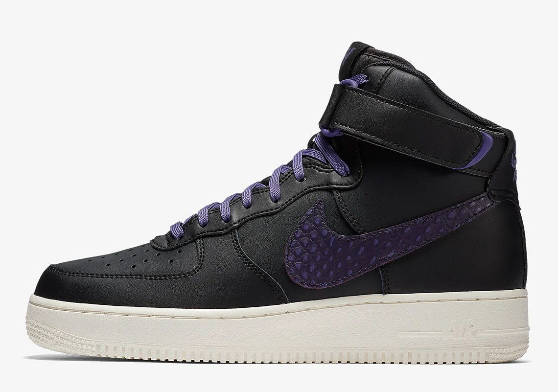 Nike Air Force 1 High Adopts Big Swoosh and Croc Skin | Nice