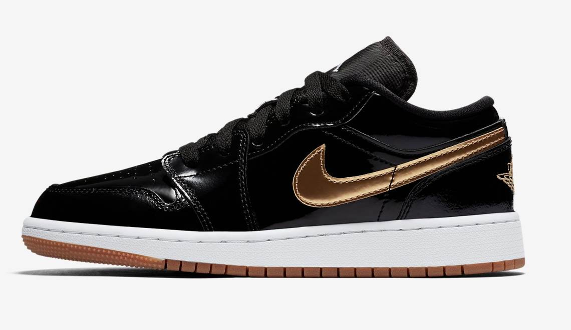 Air Jordan 1 Low GG Black/Gold