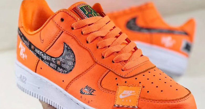 Nike AIR FORCE 1 JUST DO IT SNEAKERS Jatds