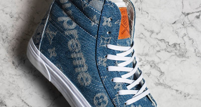The Shoe Surgeon Gifts Custom Supreme X Louis Vuitton Vans