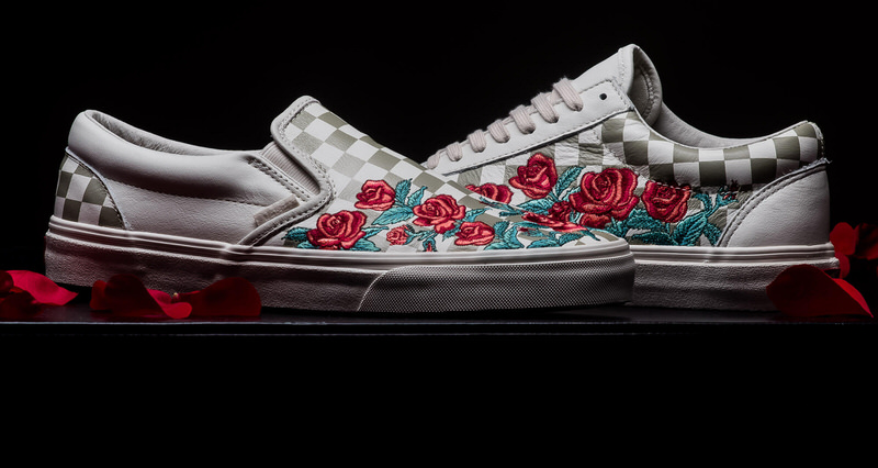 """7cb362460db Vans Classic Slip DX """"Rose Embroidery""""    Available Now"""