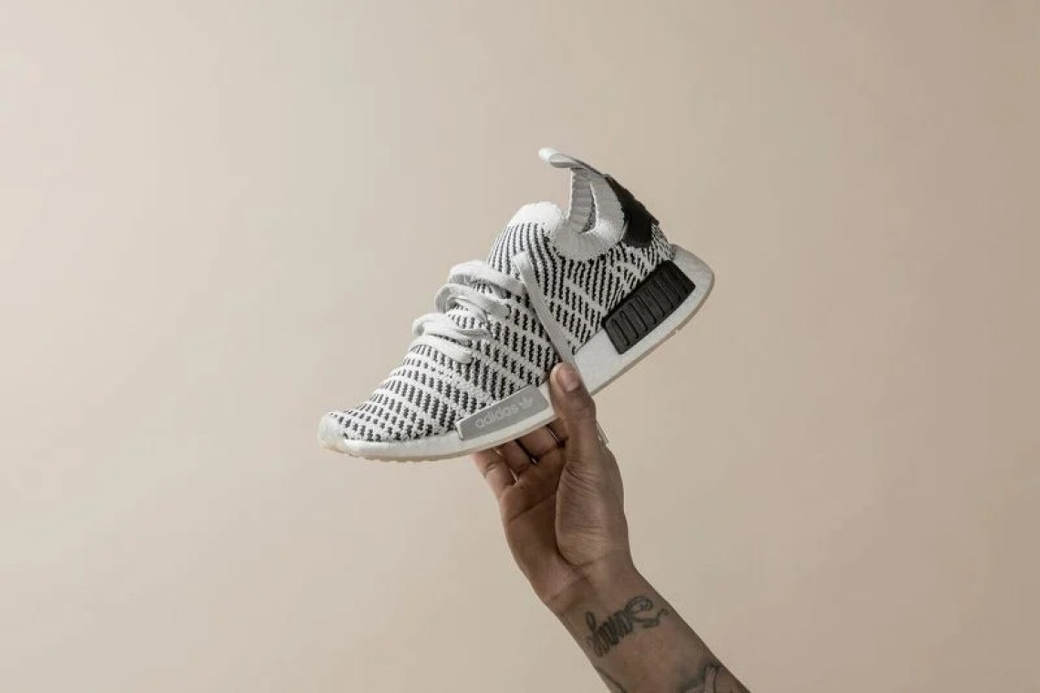 "watch 54d3f 98931 adidas NMD R1 Primeknit STLT ""Grey Two"" ..."
