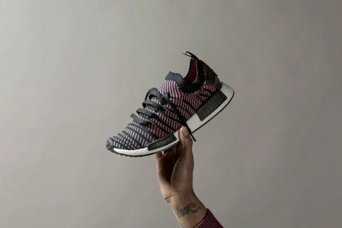 "best website f9c0e 2022f adidas NMD R1 Primeknit STLT ""Core Black"" ..."