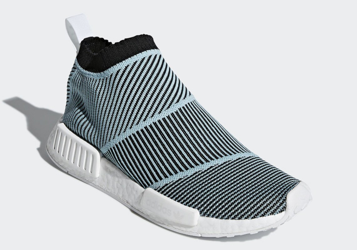 d99393d7dc472 Grab a first look at the Parley For The Oceans x adidas NMD City Sock below  and expect the release this spring.