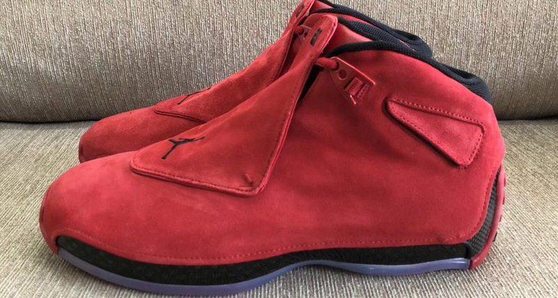 "f4e4cead112 Air Jordan 18 ""Toro"" Releasing This Spring. Jan 17"