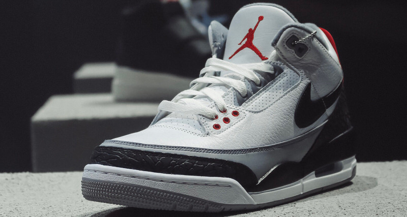 "sports shoes 86c92 2d5cb Jordan Brand Sold Air Jordan 3 ""Tinker Hatfield"" On Snapchat During  All-Star Weekend"
