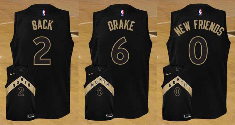 official photos 772e8 f451f toronto raptors drake night jersey
