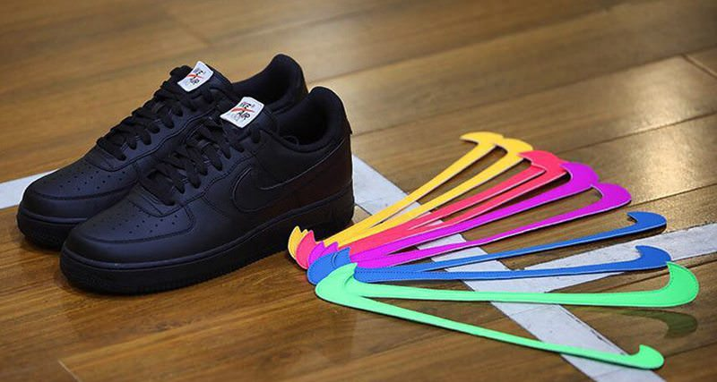 best sneakers 155dd 5a1e3 Nike Air Force 1 Low DIY First Look | Nice Kicks