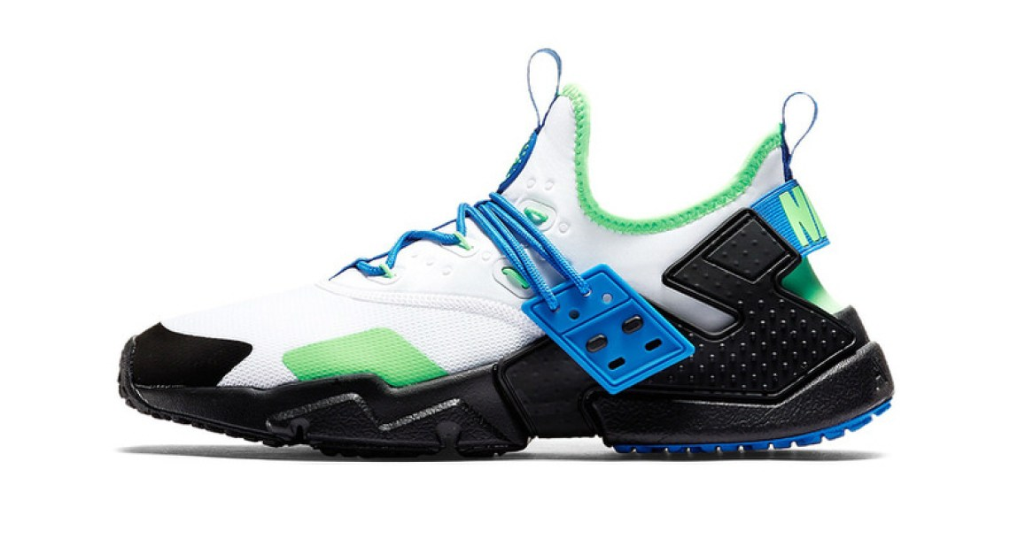 """Nike Air Huarache Drift """"Scream Green"""""""
