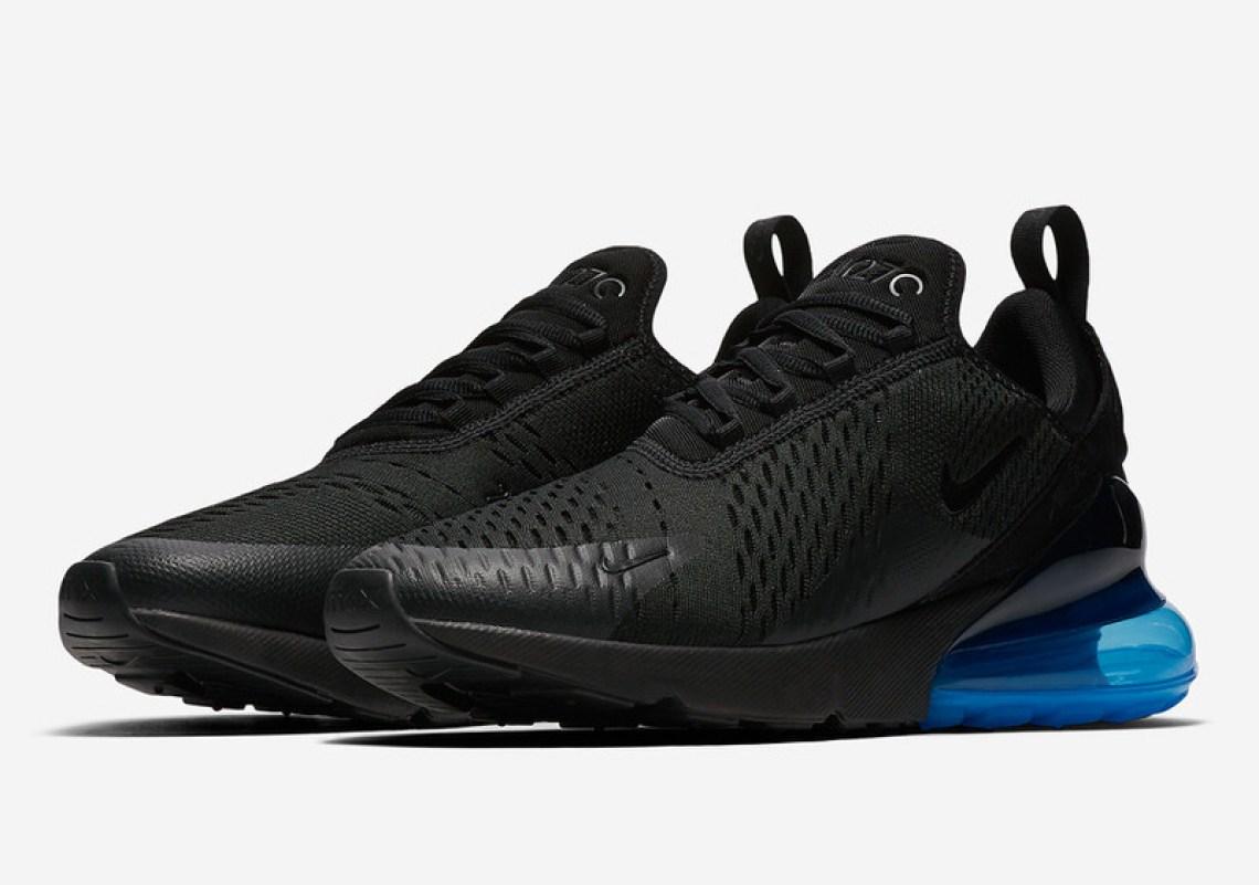 official photos 67a04 928aa Nike Air Max 270 Black/Photo Blue Release Date | Nice Kicks