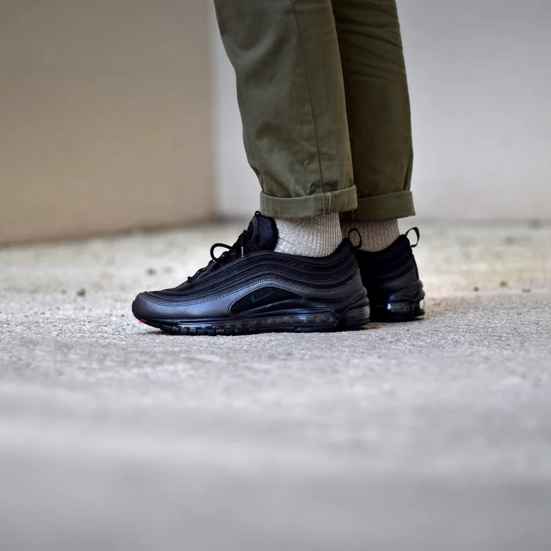 best sneakers 6defb e6744 ... australia undefeated x nike air max 97 black on feet 9a00f 7bafd