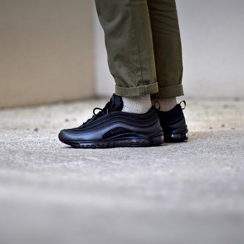 Nike Air Max 97 Premium SE 'Black & Gold' (BlackBlack