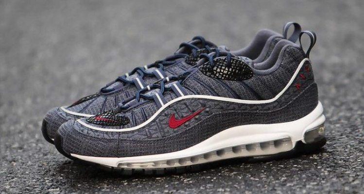 "Nike Air Max 98 ""Thunder Blue"""