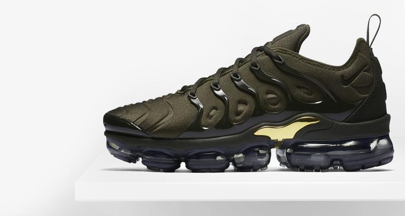 "988c929d485 Nike Air VaporMax Plus ""Cargo Khaki""    Preview"