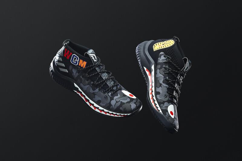Bape x Adidas dama 4 Release info Nice kicks