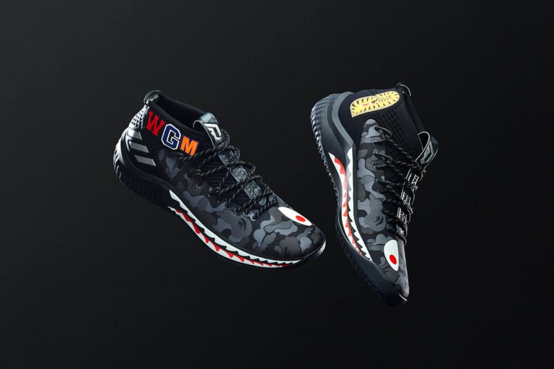 0320a83a7425 BAPE x adidas Dame 4 BAPE x adidas Dame 4