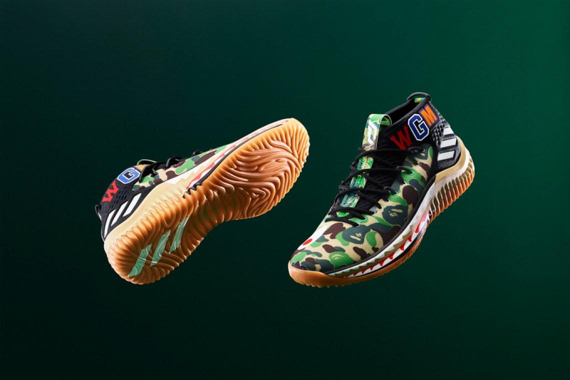 BAPE x adidas Dame 4 Release Info   Nice Kicks