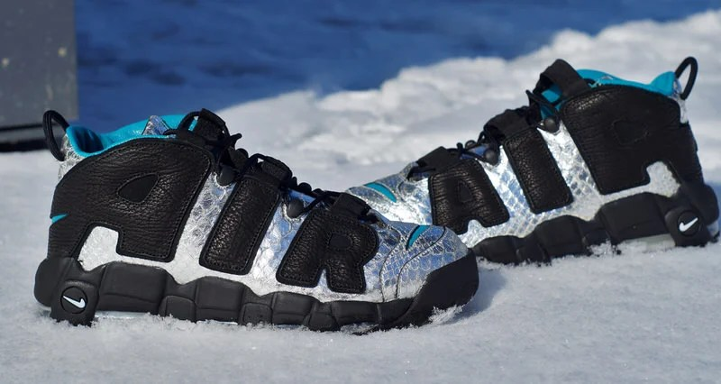 41cbefa0d54 Custom Nike Air More Uptempo Gets a Futuristic Reconstruction