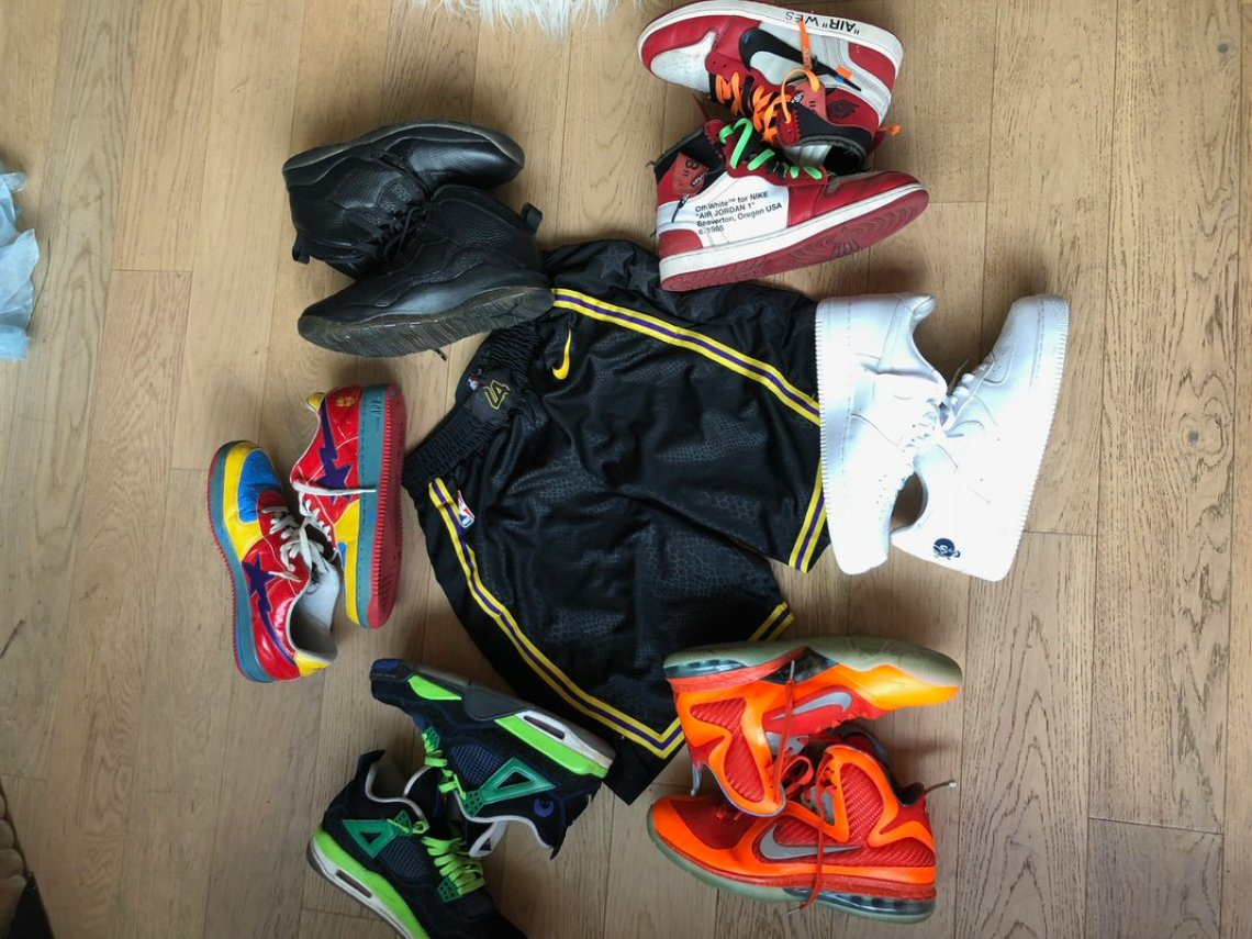 My 5 // Sheck Wes' Sneaker Rotation | Nice Kicks