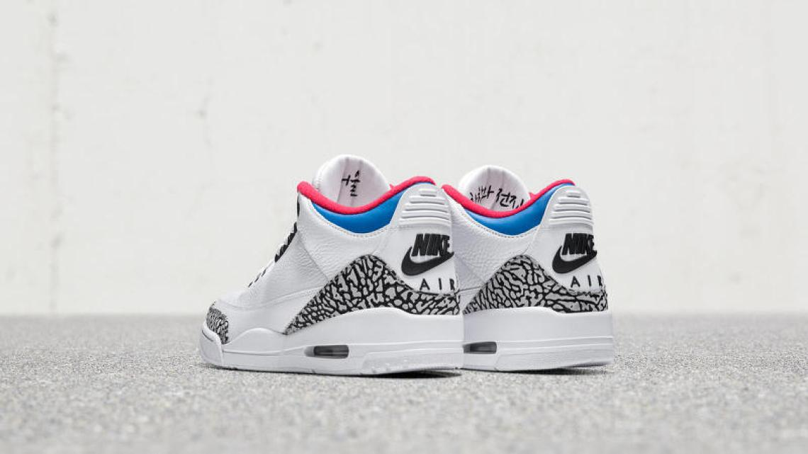 "Air Jordan 3 ""Seoul"""