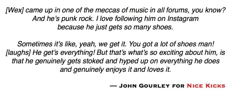 Jon Wexler Talks Music & Sneakers with John Gourley | Nice Kicks