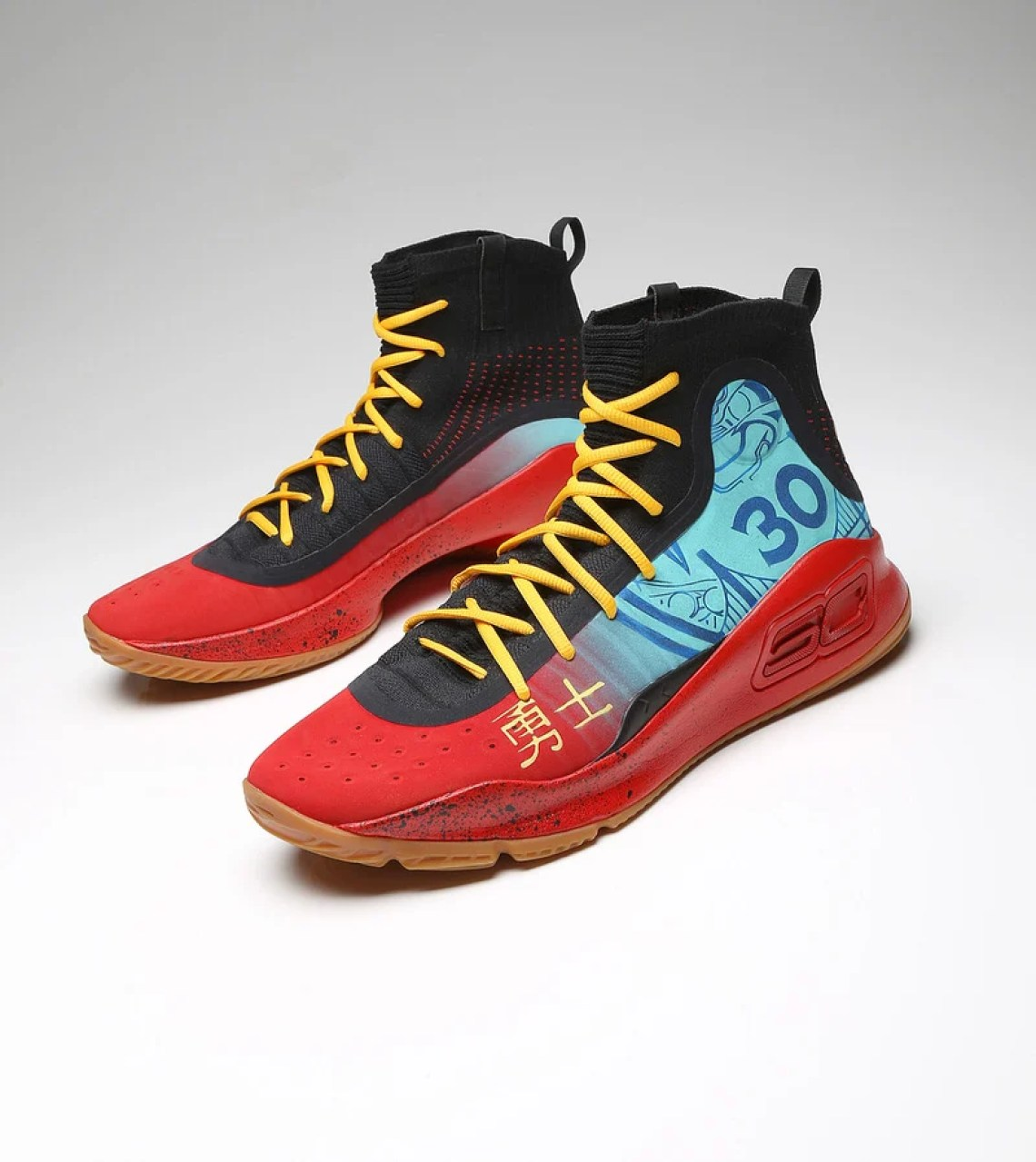 ecf993c22 Stephen Curry s Exact  Chinese New Year  Under Armour Curry 4